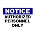 Notice Safety Sign Templates