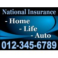 Insurance Sign Templates