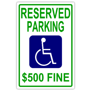 Reserved+Parking+104
