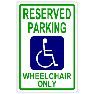 Reserved+Parking+105