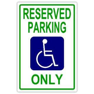 Reserved+Parking+107