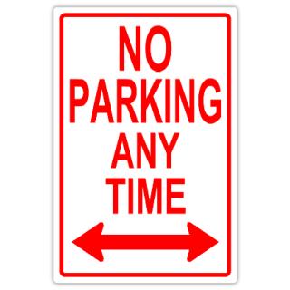 no parking 111 tow away parking sign templates templates click