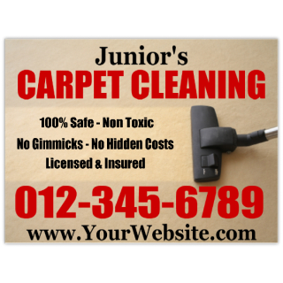 Carpet+Cleaning+Sign+101