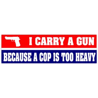Anti-Gun Control Bumper Bumper Sticker by gazebogifts |Gun Bumper Stickers