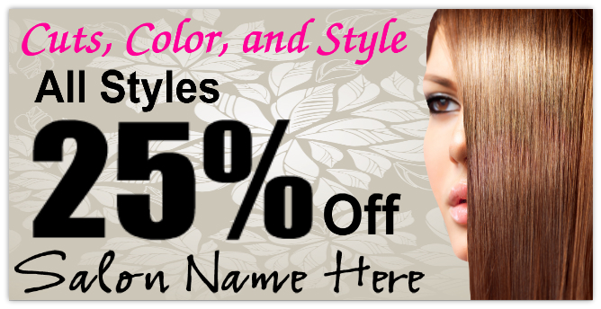 Hair Salon Banner 101 Business Banner Templates
