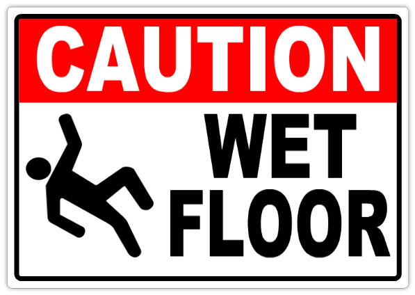 Caution Wet Floor 104 Caution Safety Sign Templates