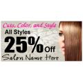 Hair Salon Banner 101