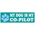 Co-Pilot Bumper Sticker