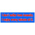 Insanity Bumper Sticker