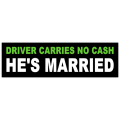He's Married Bumper Sticker