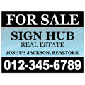 Real Estate Sign 102