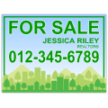 Real Estate Sign 109