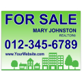Real Estate Sign 110