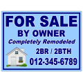 Real Estate Sign 111