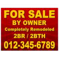 Real Estate Sign 112