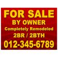 Real Estate Sign 112