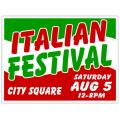 Italian Festival Sign 101