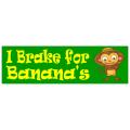 Brake for Bananas Sticker 101