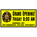 Gym Opening Banner 101