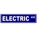 Electric Street Sign