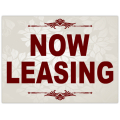 Now Leasing Sign 101