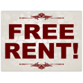 Free Rent Sign 101