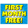 First Month Free Sign 103