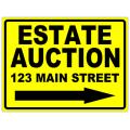 Auction Sign 102