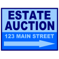 Auction Sign 103