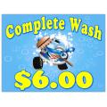 Car Wash Sign 101