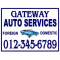 Auto Services Sign 104