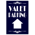 Valet Parking Sidewalk Sign 102