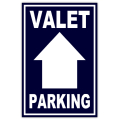 Valet Parking Sidewalk Sign 104