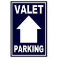 Valet Parking Sidewalk Sign 104