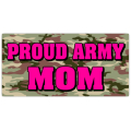 Proud Army Mom License Plate 102