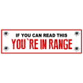 In Range Bumper Sticker 102