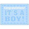 It's A Boy Sign 104