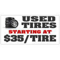 Used Tires Banner 102