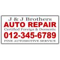 Auto Repair Banner 102