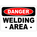 Danger Welding Area 101