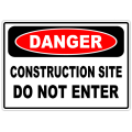 Danger Construction Site 101