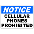 Notice Phones Prohibited 101