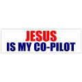 Jesus Co-pilot Sticker 101