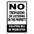 NO TRESPASSING 107