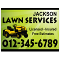 Landscaping Sign 109