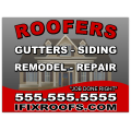 ROOFING SIGN 109