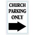Church Sidewalk Sign 108