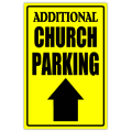 Church Sidewalk Sign 109