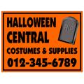 Halloween Sign 101