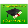 Graduation Sign 103